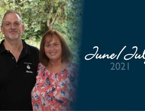Marais and Linda June/July